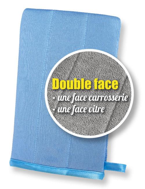 Nenette - Gant Microfibre double face